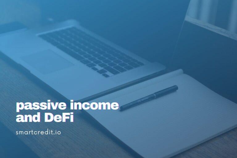 passive income and defi