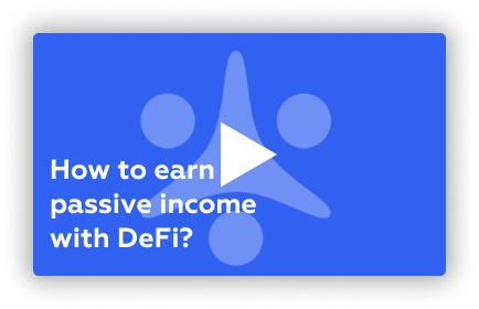 how to earn passive income with defi
