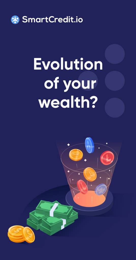 Evolution of your wealth