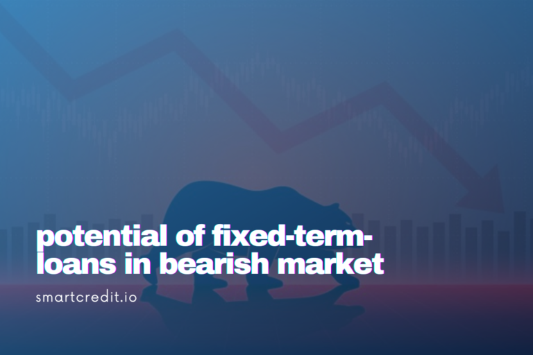 fixed-term crypto loans potential in bearish market